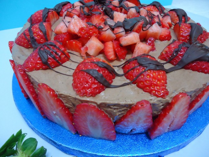 Tarta mousse de chocolate 009