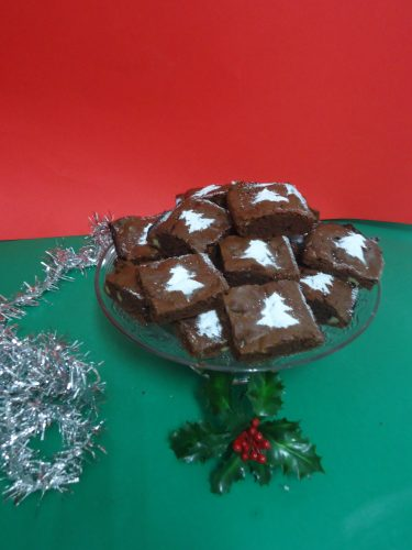 brownie navideño 002