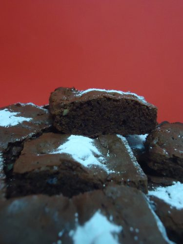 brownie navideño 004