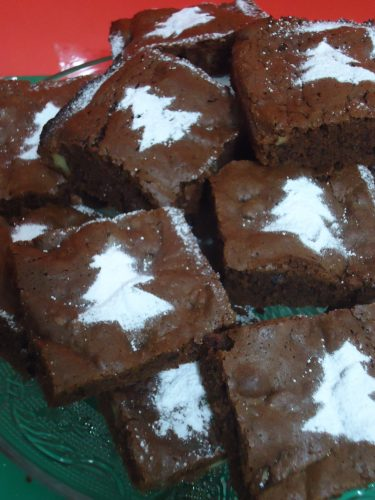 brownie navideño 009