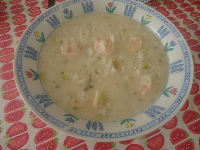 risotto de langostinos y puerro (1)