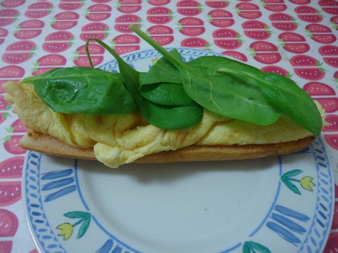 tortilla sedosa de espinacas, tomate y parmesano (1)
