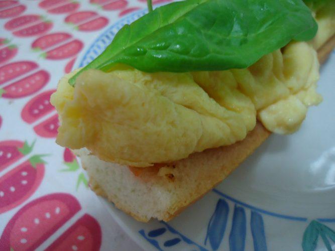 tortilla sedosa de espinacas, tomate y parmesano (2)