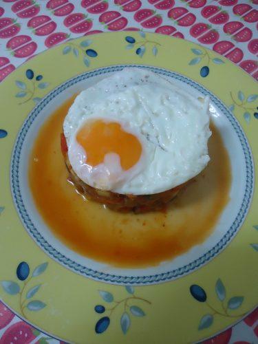 pisto manchego con huevo (1)