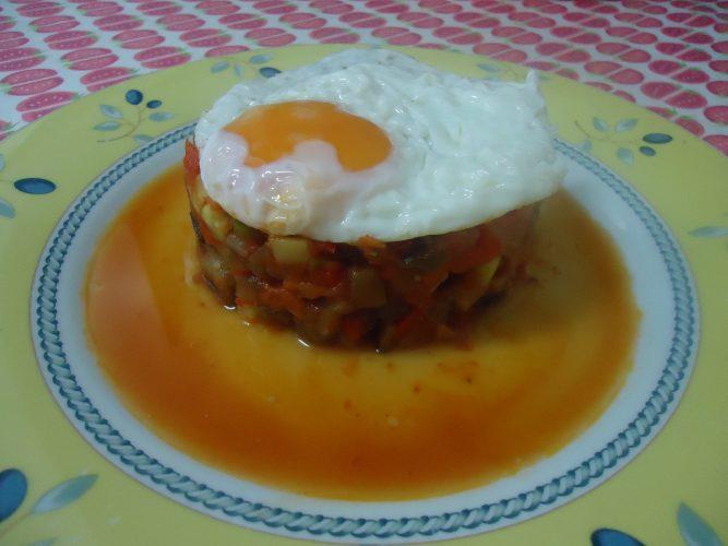 pisto manchego con huevo (3)