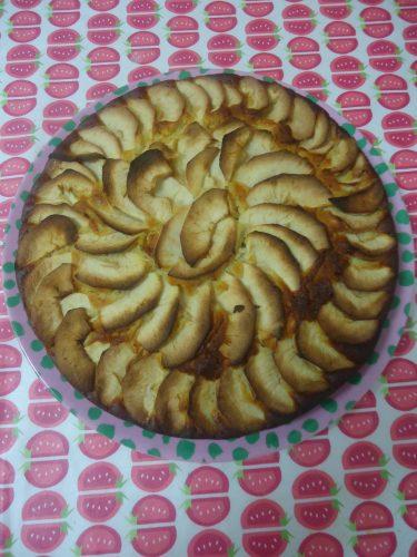 bizcocho de yogur y manzana (1)