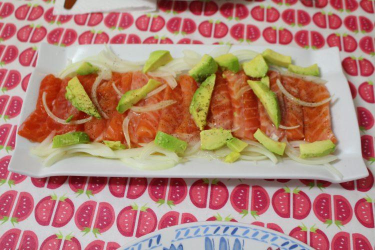 ceviche de salmón con chips (1)